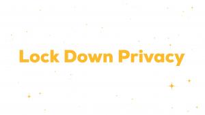 برنامج Lock Down Privacy لأجهزة iPhone